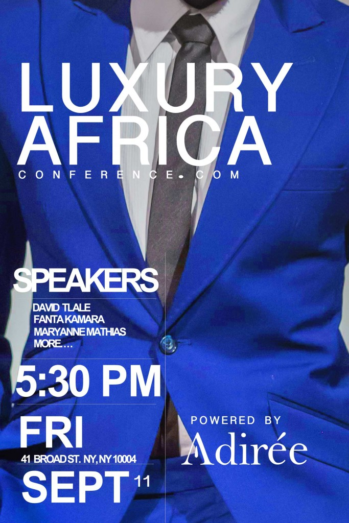 LUXURY-AFRICA-CONFERENCE FLIER