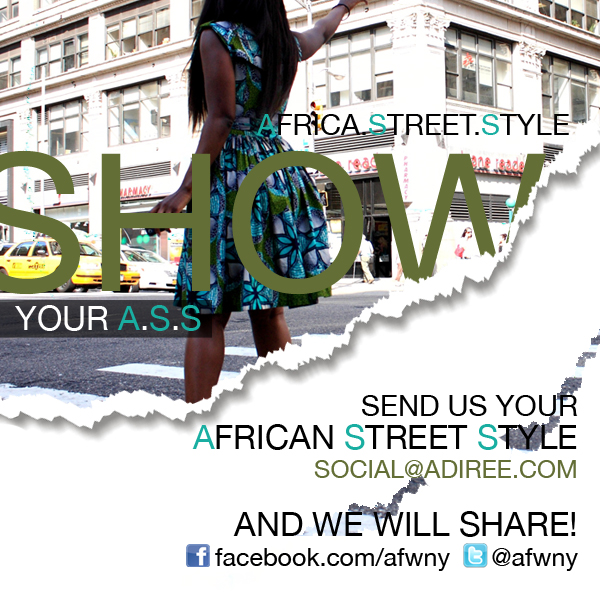 Adiree Show Your Africa Street Style Fashion Campaign  (5)
