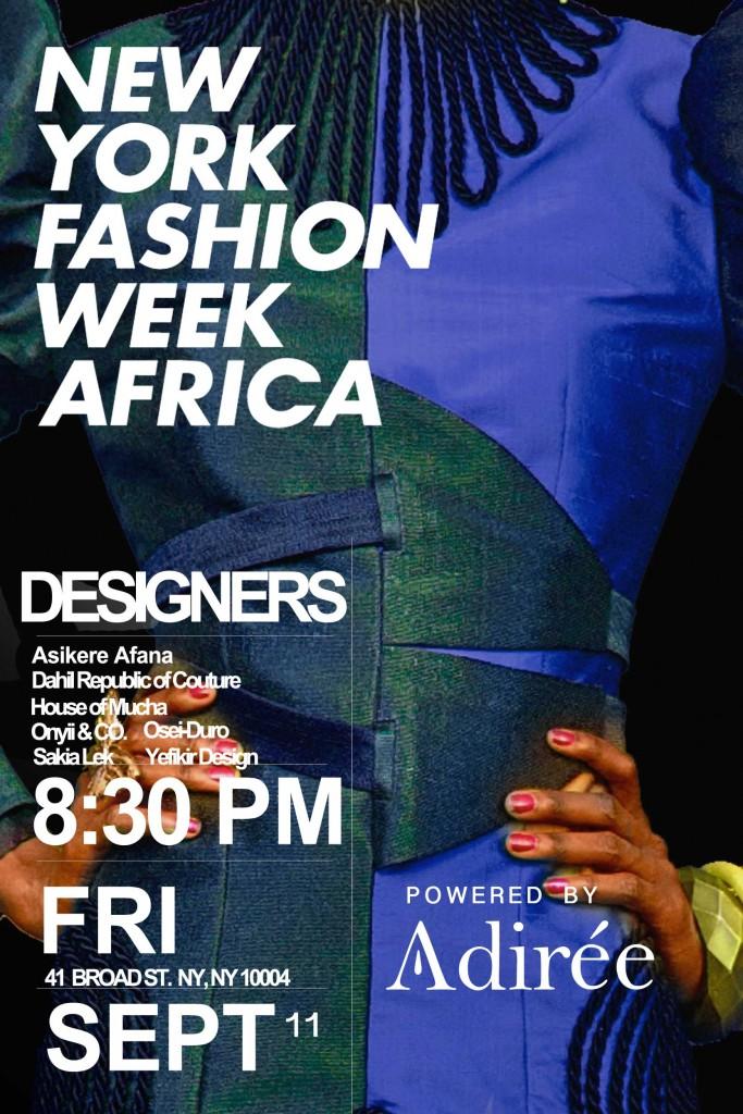NewYorkFashionWeekAfrica